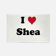 I love Shea Rectangle Magnet
