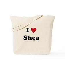 I love Shea Tote Bag