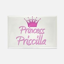 Princess Priscilla Rectangle Magnet