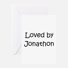 Cute Jonathon Greeting Card