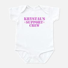 Krystal Support Crew Infant Bodysuit