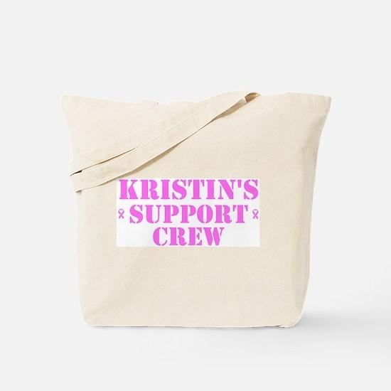 Kristin Support Crew Tote Bag