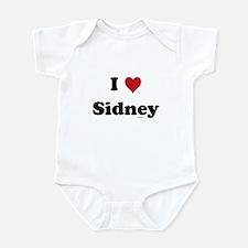 I love Sidney Infant Bodysuit