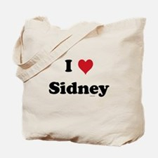 I love Sidney Tote Bag