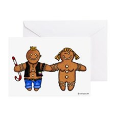 butch/femme gingerbread Greeting Cards (Pk of 20)