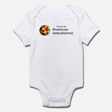 Funny Math teacher Infant Bodysuit