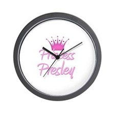 Princess Presley Wall Clock