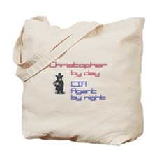 Christopher - CIA Agent by Ni Tote Bag
