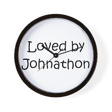 Funny Johnathon's Wall Clock