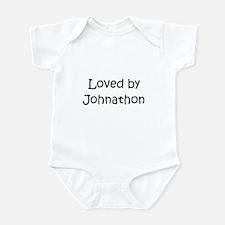 Cute Johnathon name Infant Bodysuit