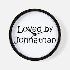 Cute Johnathan Wall Clock
