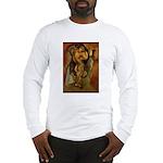 Large Nude Long Sleeve T-Shirt