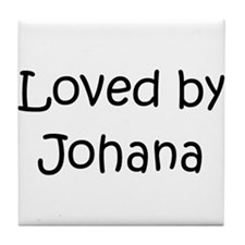 Cute Johana Tile Coaster
