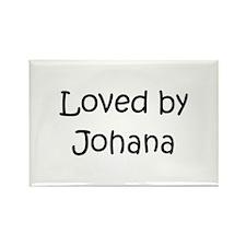 Cute Johana Rectangle Magnet