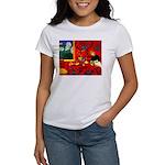 Harmony in Red Women's T-Shirt
