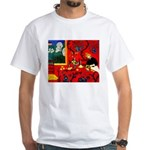 Harmony in Red White T-Shirt