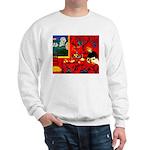 Harmony in Red Sweatshirt