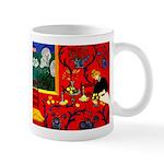 Harmony in Red Mug