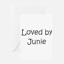 Cute Junie Greeting Card