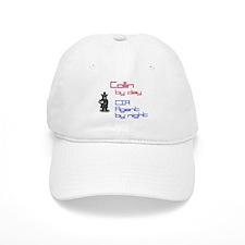 Collin - CIA Agent by Night Baseball Cap