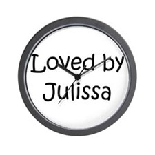 Unique Julissa Wall Clock