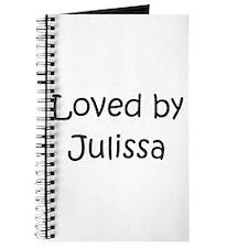 Cute Julissa Journal