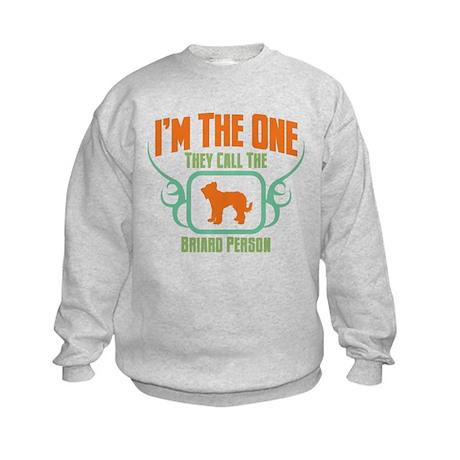 Briard Kids Sweatshirt