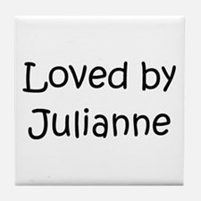 Unique Julianne Tile Coaster