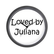 Unique Juliana Wall Clock
