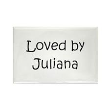 Cute Juliana Rectangle Magnet