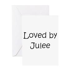 Funny Jules name Greeting Card