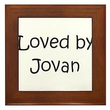Cute Jovan Framed Tile