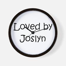 Cute Joslyn Wall Clock
