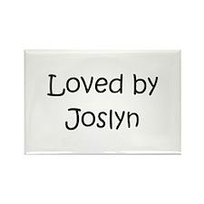 Cute Joslyn Rectangle Magnet
