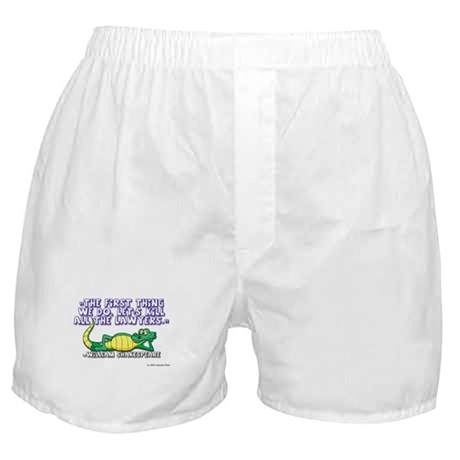 Kill Lawyers Boxer Shorts