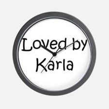 Unique Karla Wall Clock