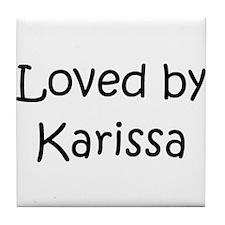 Cute Karissa Tile Coaster