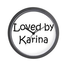Cute Karina Wall Clock