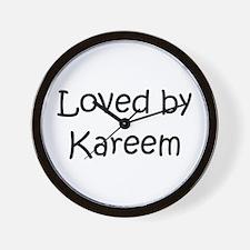 Unique Kareem Wall Clock