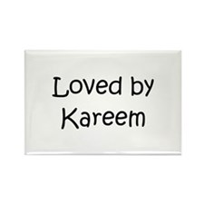 Cute Kareem Rectangle Magnet