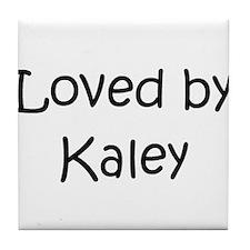 Cute Kaley Tile Coaster