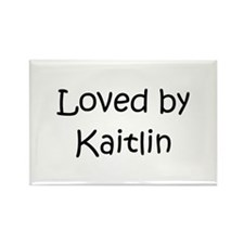 Cute Kaitlin Rectangle Magnet (100 pack)