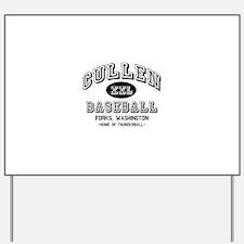 Cullen Baseball Yard Sign
