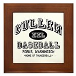 Cullen Baseball Framed Tile