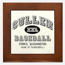 Cullen Baseball Framed Tile