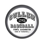 Cullen Baseball Wall Clock