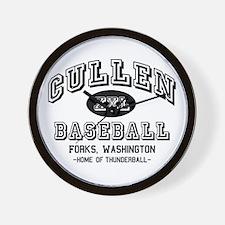 Cullen Baseball Wall Clock