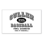 Cullen Baseball Rectangle Sticker 10 pk)