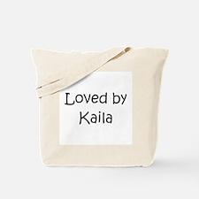Cute Kaila Tote Bag