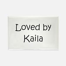 Cute Kaila Rectangle Magnet